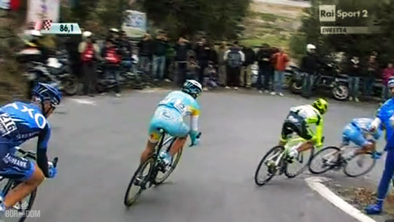 Cycleboredom | Screencap Recap: Milan-San Remo - Corners