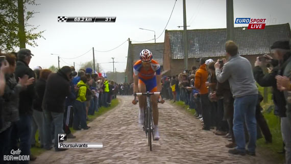 Cycleboredom | Screencap Recap: Paris-Roubaix - Big Rabo!