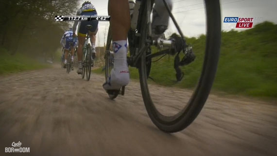 Cycleboredom | Screencap Recap: Paris-Roubaix - Chain Dance