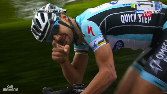 Cycleboredom | Screencap Recap: Paris-Roubaix - Do Drugs Kids