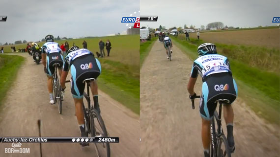 Cycleboredom | Screencap Recap: Paris-Roubaix - Terpstra Cracks