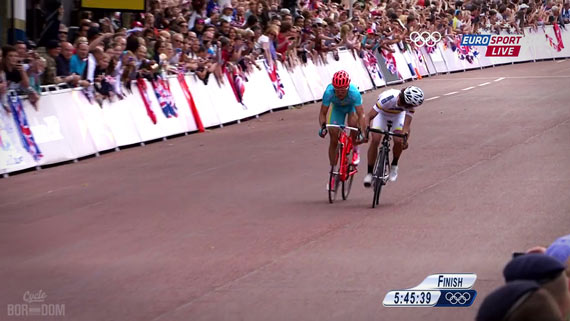 Cycleboredom | Screencap Recap: Men's Olympic Road Race - Sensing A Chance