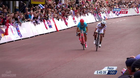 Cycleboredom | Screencap Recap: Men's Olympic Road Race - Divergent Paths