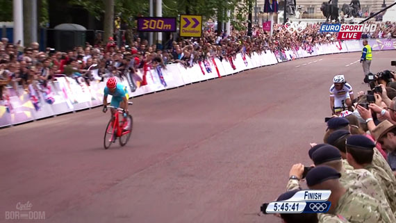 Cycleboredom | Screencap Recap: Men's Olympic Road Race - Against The Barriers