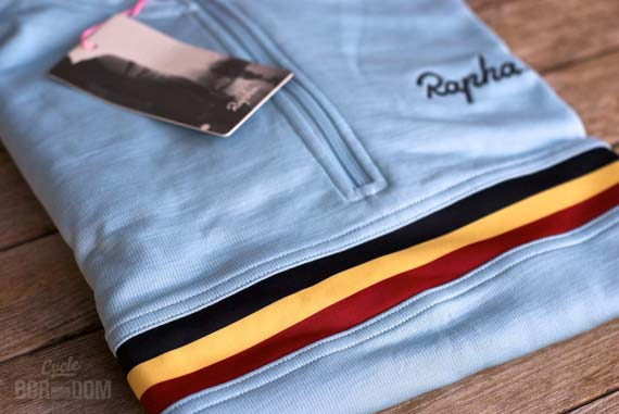 Cycleboredom | First Look: The Rapha Long Sleeve Country Jersey - Folded