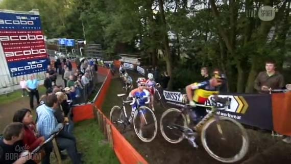 Cycleboredom | Screencap Recap: 2012 Cyclocross Bosduin Kalmthout - It Ain't Haard