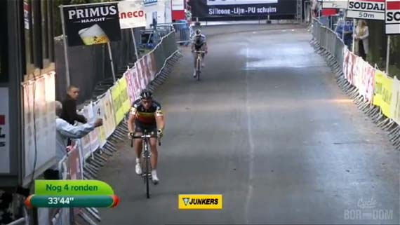 Cycleboredom | Screencap Recap: GP Neerpelt - Nog 4 Ronden