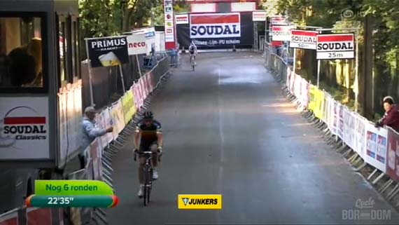 Cycleboredom | Screencap Recap: GP Neerpelt - Nog 6 Ronden