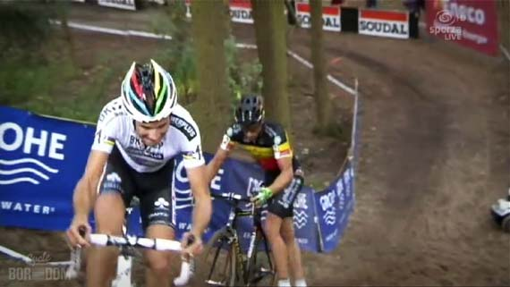 Cycleboredom | Screencap Recap: GP Neerpelt - Foot Down