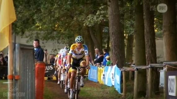 Cycleboredom | Screencap Recap: 2012 Cyclocross Bosduin Kalmthout - Bart Comes To The Front