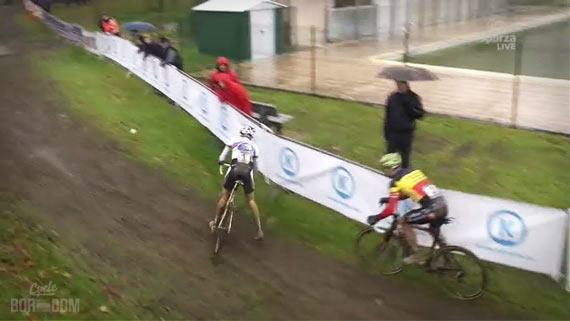 Weekend CX Ronden | Cycleboredom - Albert Slides Out