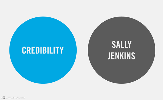 The Official Sally Jenkins Venn Diagram | Cycleboredom