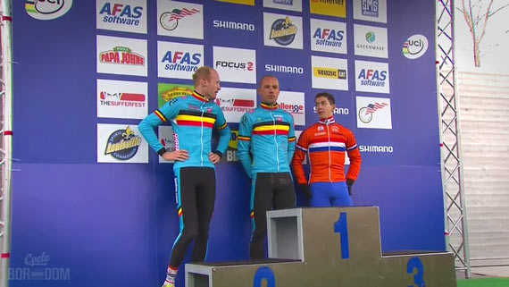 Screencap Recap: 2013 UCI Cyclocross World Championships - Ooooo, They Booin' Pat!!