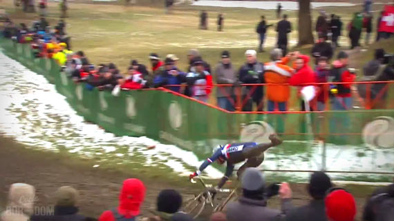 Screencap Recap: 2013 UCI Cyclocross World Championships - Down Goes Mourey