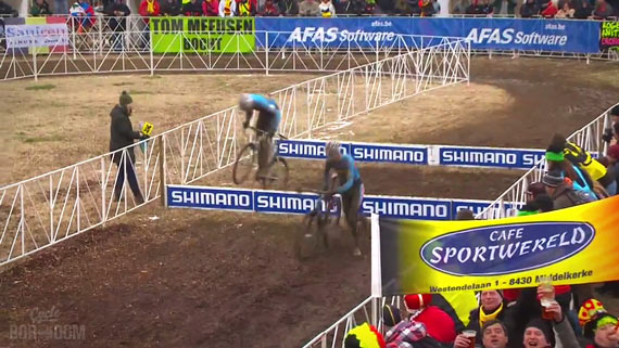 Screencap Recap: 2013 UCI Cyclocross World Championships - Hop And Hop