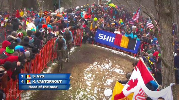 Screencap Recap: 2013 UCI Cyclocross World Championships - Huge Gaap