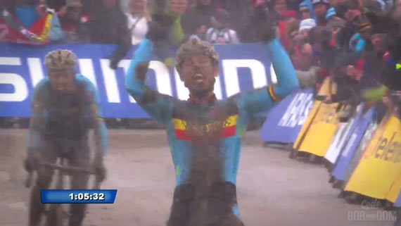 Screencap Recap: 2013 UCI Cyclocross World Championships - OVERWINNINGS