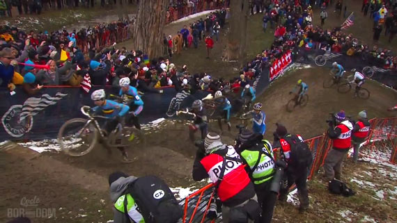 Screencap Recap: 2013 UCI Cyclocross World Championships - Stone Stairs