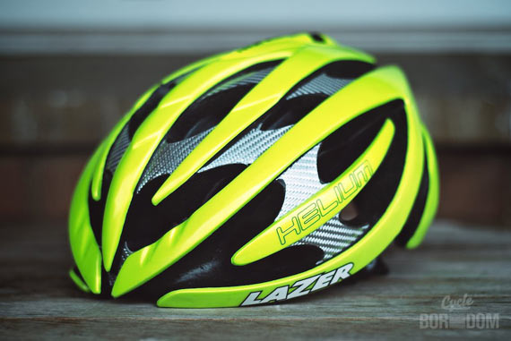 What I'm Riding: The Winter Hit List - Lazer Helium Helmet