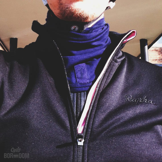 What I'm Riding: The Winter Hit List - Rapha Winter Collar