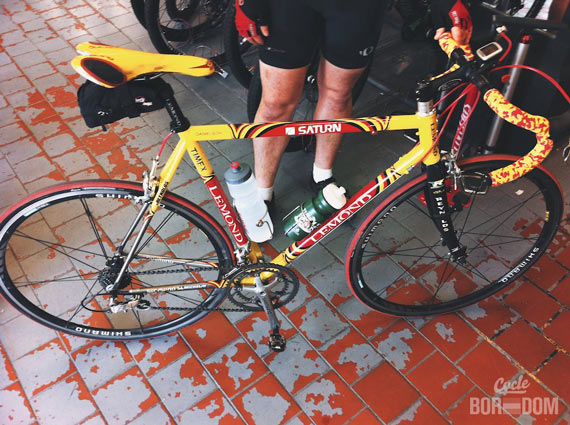 Spotted: Tom Danielson's Team Saturn Ti LeMond