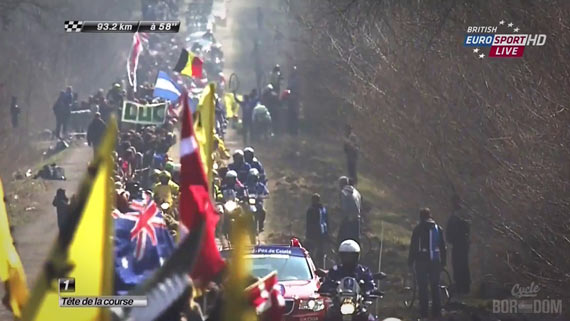 Screencap Recap: Paris-Roubaix 2013 - Arenberg Madness