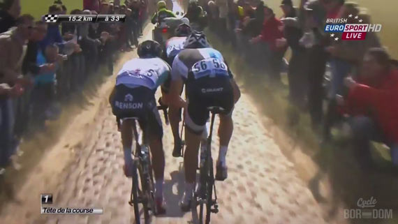 Screencap Recap: Paris-Roubaix 2013 - RACING!