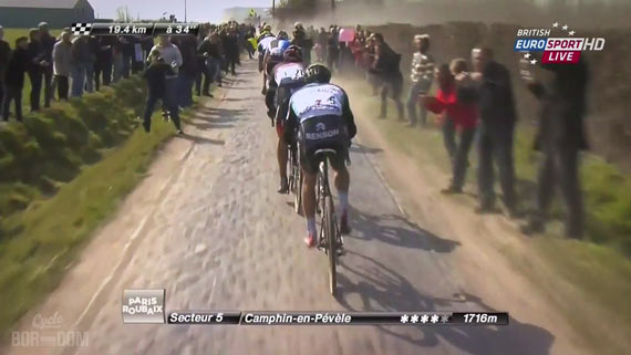 Screencap Recap: Paris-Roubaix 2013 - Final Four