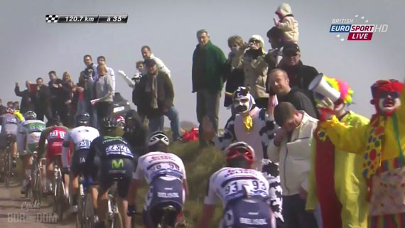 Screencap Recap: Paris-Roubaix 2013 - Sad Spectator