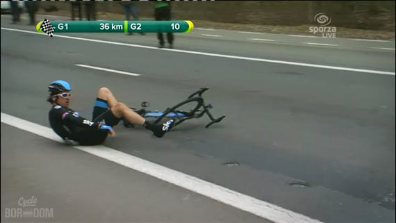 Screencap Recap: Paris-Roubaix 2013 - Thomas Down Again