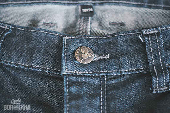 What I'm Riding: SWRVE Cordura Skinny Fit Jeans - Button