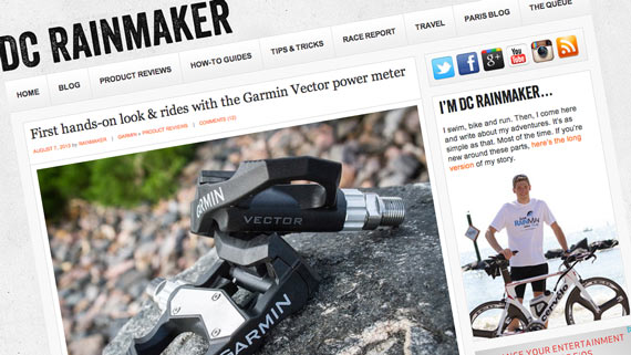 Released (no really!): Garmin Vector Power Meter